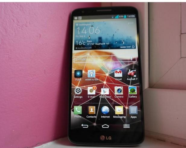 LG Smartphone display 2K Courtesy: www.stuff.tv