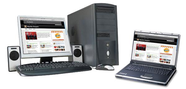 Laptop atau Dekstop Courtesy: www.techsmartservices.co.uk