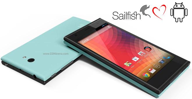 Tablet dengan Sailfish OS Courtesy: www.gsmarena.com