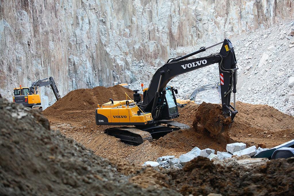 Eskavator Volvo