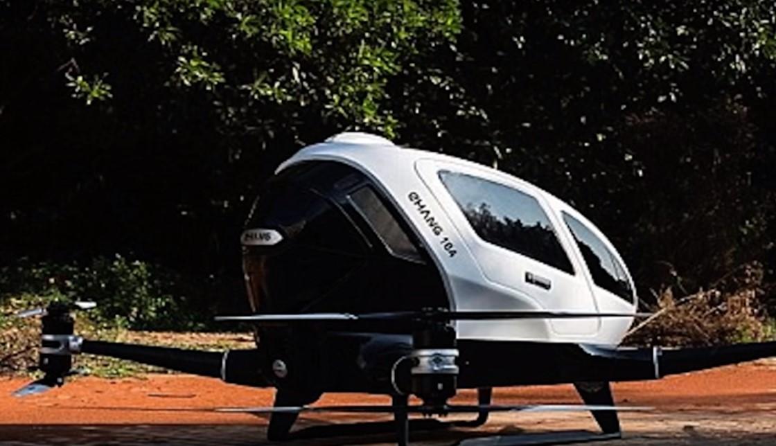 Drone Hantu Raksasa yang Mampu Mengangkut Manusia