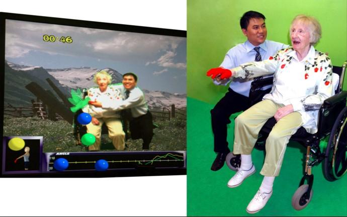 Virtual Reality untuk Terapi Stroke Courtesy: http://www.gesturetekhealth.com/
