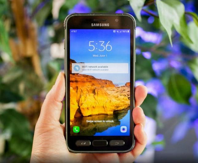 Galaxy S7 Active Layar-