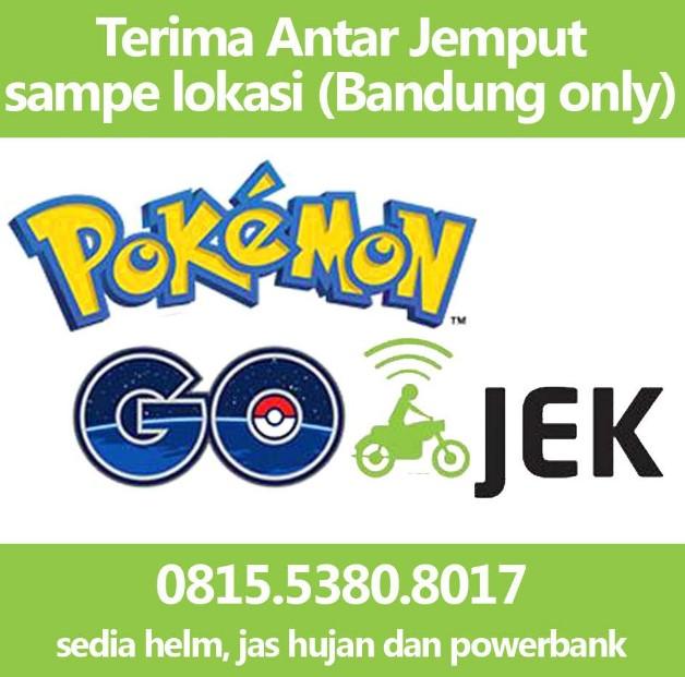 Pokemon Go-Jek