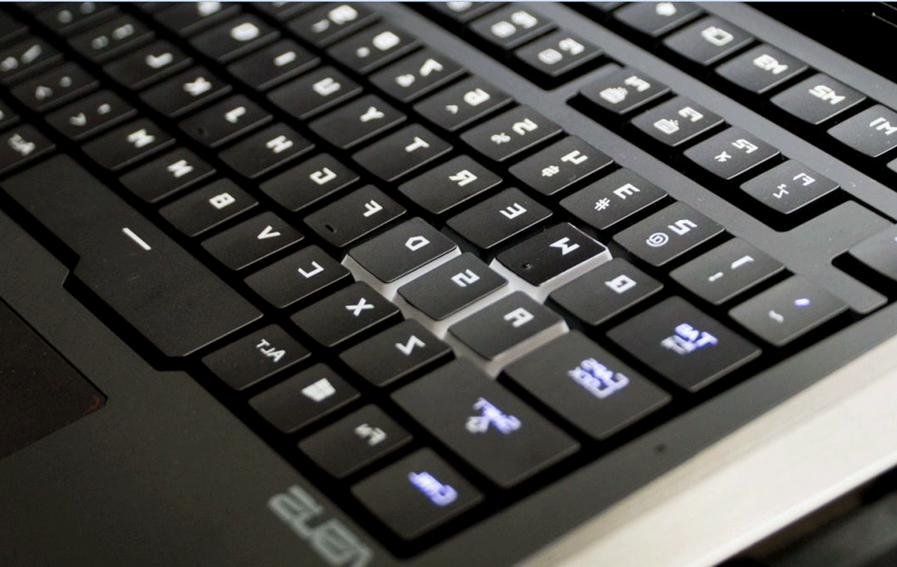 ASUS-laptop-keyboard